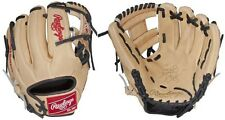 "Rawlings Camel /Black 11.25"" Heart Of The Hide Narrow Fit Youth Baseball Glove"