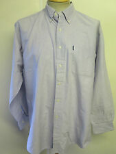 Ralph Lauren POLO men's Blue Long Sleeved Casual Shirt Loose Fit L 42- 46""