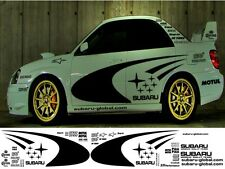SUBARU WRC KIT SWRT WRX STI P1 IMPREZA GRAPHICS STICKERS