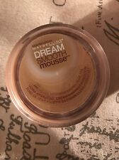 NEW MAYBELLINE NEW YORK DREAM SMOOTH MOUSSE #240 NATURAL BEIGE Sealed