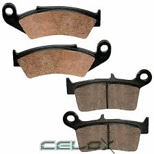 Front Rear Brake Pads For Yamaha YZ125 Competition 125 1998 1999 2000 2001 2002