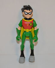 "2004 Robin 3.75"" Teen Titans Go Animated Bandai Action Figure Dc Comics"