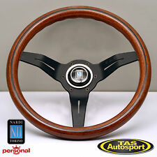 Nardi Steering Wheel 330mm DEEP CORN WOOD black spokes 5069.33.2000