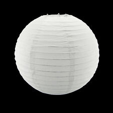 10 Inch White Round Paper Lantern Lamp Shade Party Home Hanging Decor Set of 10
