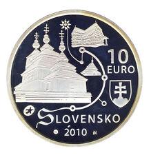 SLOWAKEI - 10 Euro 2010 - HOLZKIRCHEN - SILBER (10221/191N)