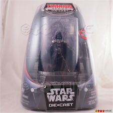 Star Wars Titanium Diecast Series Darth Vader with display case action figure