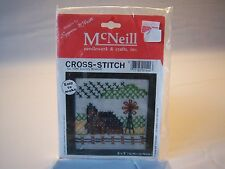 McNeil Needle Work & Crafts Easy To Make Country Windmill Cross Stitch NEW