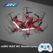 Original JJRC H20 2.4G 4CH 6-Axis Nano Hexacopter Drone+CF Mode RTF Red AD PV12