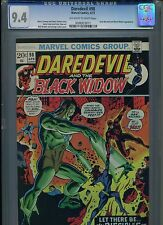 Daredevil #98 CGC 9.4 (1973) Black Widow Dark Messiah