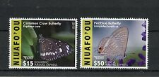 Niuafo'ou 2015 MNH EMS Part 1 Butterflies 2v Set Insects Peablue Butterfly