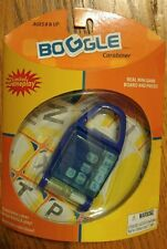 Rare Retired Boggle Carabiner Mini Game Keychain by Basic Fun - Really Works