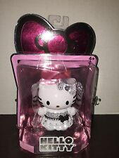 NEW Hello Kitty Limited Edition Collectible White/Silver Crystal Embellish Doll