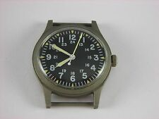 Vintage Hamilton military wrist watch in excellent condition. Runs. All original