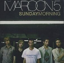 MAROON 5 Sunday Morning PROMO DJ CD Single w/ PRINTED LYRICS USA MINT