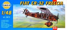 FIAT CR 32 FRECCIA (SPANISH & REGIA AERONAUTICA/ITALIAN AF MARKINGS) 1/48 SMER
