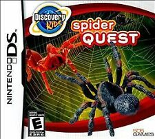 NINTENDO DS DISCOVERY KIDS SPIDER QUEST BRAND NEW GAME