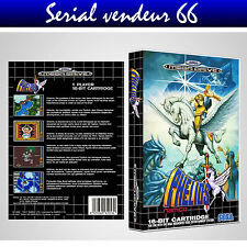 "BOX, CASE ""PHELIOS"". MEGADRIVE. BOX + COVER PRINTED. NO GAME. MULTILINGUAL."