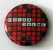 HOOBASTANK 1-inch BADGE Button Pin Red & Black Squares Logo NEW OFFICIAL MERCH