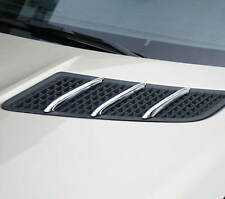 MERCEDES SLK R172 CHROME BONNET AIR VENT TRIM