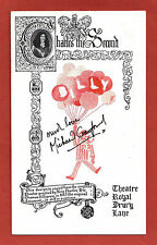 """Michael Crawford (Signed) """"BILLY"""" Elaine Paige / John Barry 1974 London Playbill"""