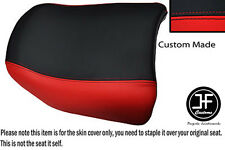 RED AND BLACK AUTOMOTIVE VINYL CUSTOM FITS BMW R 1150 GS REAR PILLION SEAT COVER