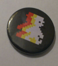Jet Set Willy BADGE PIN 25mm Pulsante giochi retrò AMSTRAD COMMODORE 64 CPC 464