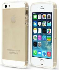 Pour Iphone 5 5S Coque Gel en Silicone Transparent  + Film de Protection Offert