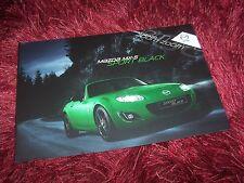 Prospectus / Brochure MAZDA MX-5 Sport Black 2011 //