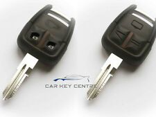 Repair For Vauxhall Opel Vectra C Omega 3 Button Remote Key Fob Case
