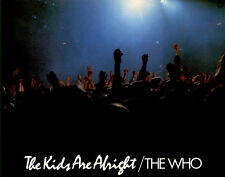 The Who - The Kids Are Alright  ORIGINAL Aushangfoto Roger Daltrey / P Townshend