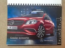 MERCEDES-BENZ DEALER PARTS DEPARTMENT ACCESSORIES BROCHURE