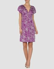 NEW Antik Batik women's floral print zipper silk dress  size XS 36 $230