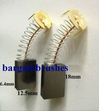 CARBON BRUSHES for SKIL ROTARY HAMMER 1745 1 617 014 136   6.4X12.5X18mm  - E79