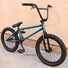 """2017 WE THE PEOPLE BMX BIKE JUSTICE 20"""" TRANS TEAL BICYCLE 21"""" TOPTUBE SUNDAY"""