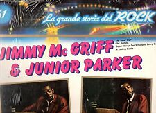 JIMMY MCGRIFF JUNIOR PARKER SHIRLEY & LEE disco LP 33 GRANDE STORIA ROCK 61