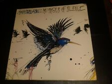 "RARE 12"" LP Vinyl Record * CAMOUFLAGE - METHODS OF SILENCE * PROMO"