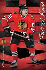 PATRICK KANE - CHICAGO BLACKHAWKS POSTER - 22x34 NHL HOCKEY 13132