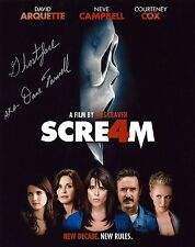 Dane Farwell signed 8x10 Scream 4 photo / autograph Ghostface