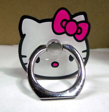 Kitty Cat Cell phone security i- ring BLING Stand