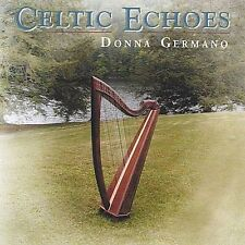 DONNA GERMANO CELTIC ECHOES MUSIC FOR HARP AND HAMMERED DULCIMER 2003 CD