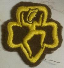 1940's Girl Scout WWII BROWNIE Badge for Hat, Unifrom or Scout up your clothing