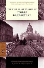 Modern Library Classics: The Best Short Stories of Fyodor Dostoyevsky by...