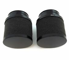 Set of 2 Black Foam Pod Filters - 54mm - Honda CB/CM400/450 CX/GL500/650
