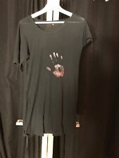 Ann Demeulemeester Hand Black Dress Sz 36