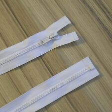 """CHUNKY PLASTIC OPEN END ZIP. CHOOSE YOUR PREFERED COLOUR! 10""""-34"""". ***"""