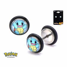 Pokemon Squirtle Offically Licensed 18G Faux Plug