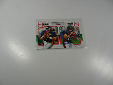 John Elway/Tim Tebow 2010 Topps Gridiron Lineage card #GL-ET