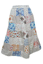 BOHEMIAN PATCHWORK VINTAGE SKIRT RAYON PRINTED BOHO CHIC FASHION GYPSY SKIRTS