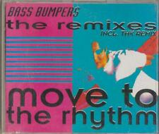 C.D.MUSIC D175   BASS BUMPERS-MOVE TO THE RHYTHM   6 TRACK SINGLE    CD
