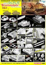 Dragon DML 1/35 SdKfz 166 Stu.Pz.IV Brummbar Mid Production & Mid Prod #6460